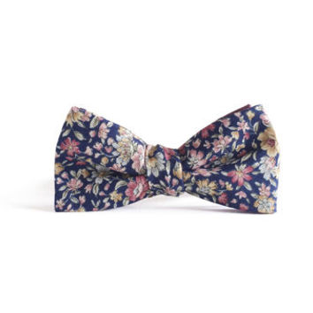 Edward Floral Bow Tie