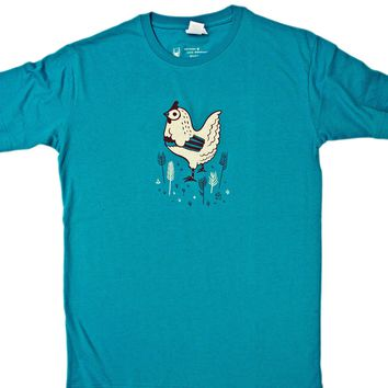 Unisex Chicken T-shirt / Chicken T Shirt by boygirlparty®