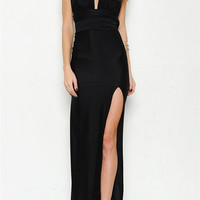 Interchangeable Maxi Dress - Black