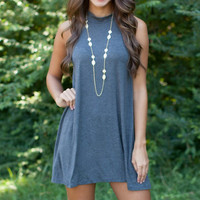 Casual Sleeveless Big Swing Dress