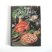 McCall's Cookbook Best Holiday Foods and Crafts, 1986, 384 Pages of Recipes, Beautiful Photos, Christmas Thanksgiving Baking Cooking Meals