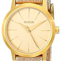 Nixon Women's A3981877 Kenzi Leather Watch