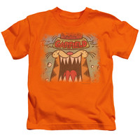 GARFIELD/FROM THE DEPTHS - S/S JUVENILE 18/1 - ORANGE - LG (7)