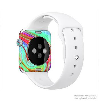 The Neon Color Fusion V7 Full Body Skin Set for the Apple Watch