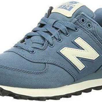 LMFONV new balance women s 574 waxed canvas pack fashion sneaker