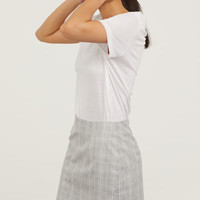 Fitted Skirt - from H&M