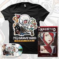 CD + T Shirt + Comic Book Preview