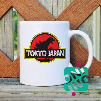 Tokyo Japan Coffee Mug, Ceramic Mug, Unique Coffee Mug Gift Coffee