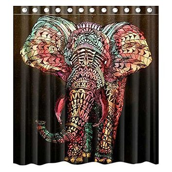 Bath - Elephant Shower Curtain