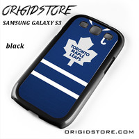 Toronto Maple Leafs Hockey Jersey For Samsung Galaxy S3 Case YG