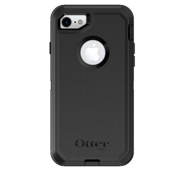PEAPGQ6 OtterBox DEFENDER SERIES Case for iPhone 8 & iPhone 7 (NOT Plus) - Frustration Free Packaging - BLACK