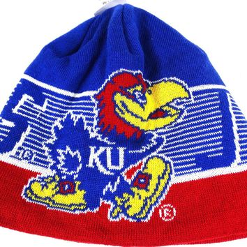 University of Kansas Jayhawks Adidas One Size Adult Beanie