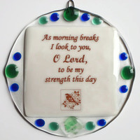 Inspirational Prayer Plaque