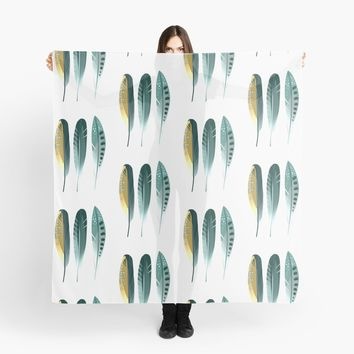 'Feathers' Scarf by printapix