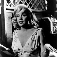 Marilyn Monroe in Floral Dress Movie Scene from The Misfits - 8x10 Photograph...