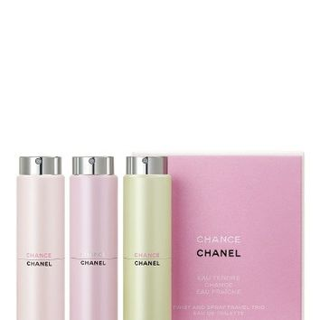 CHANEL CHANCE Twist & Spray Trio (Limited Edition) | Nordstrom