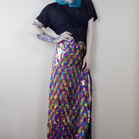 Rainbow Mermaid Skirt