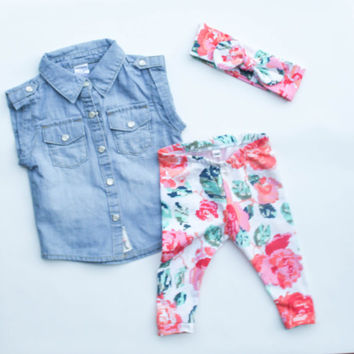 baby girl clothes - baby leggings - toddler girl clothes - toddl aa82c5b31