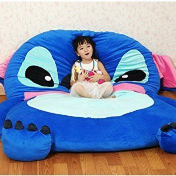 Lilo And Stitch Kids Sleeping Bed Oversized Floor Mattress Lounge Sofa Furniture