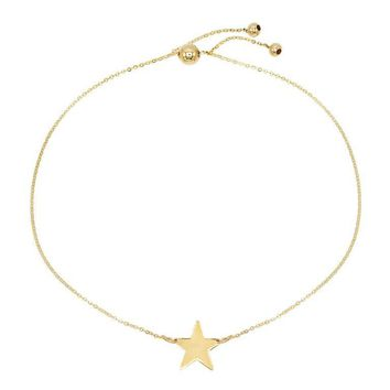 Star Adjustable Bracelet 14KT