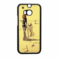 Salvador Dali Woman With Flower Head HTC One M8 Case