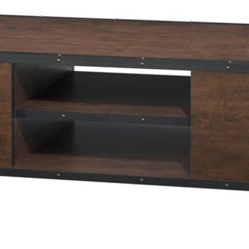 Barnes Modern Coffee Table in Vintage Walnut