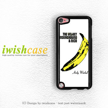Andy Warhol Velvet Underground iPod Touch 4 Case iPod Touch 5 Case