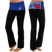 New York Rangers Women's Navy Blue Sublime Knit Lounge Pants