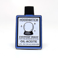 Hoodwitch Botanica Oil Pin