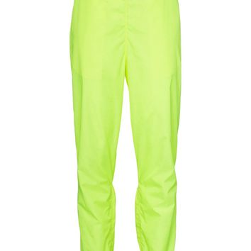 Fluorescent Yellow Track Pants by OFF-WHITE
