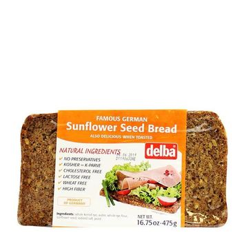 Delba - Sunflower Seed Bread, Germany, 16.75 oz. (475 g)
