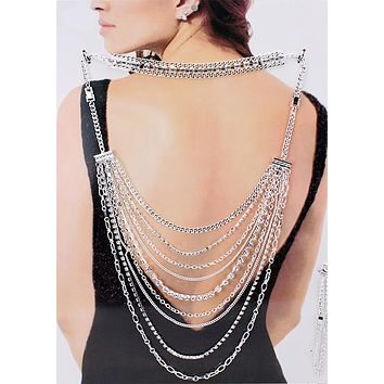 Multi function Party Back Jewelry