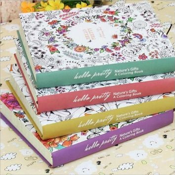 Secret Garden Notebook Gift diary Note Book Agenda planner Material escolar caderno Office stationery supplies GT110