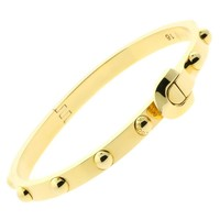 Louis Vuitton Gold Bangle Bracelet