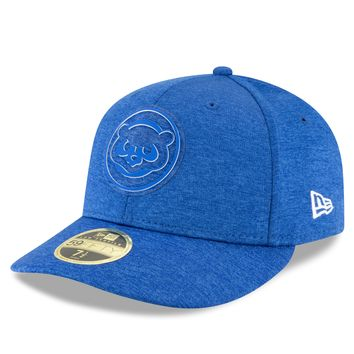 Chicago Cubs MLB18 Performance Clubhouse Low Profile 59FIFTY Fit 3c4b8e668295