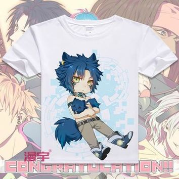 Dramatical Murder Short Sleeve Anime T-Shirt V3