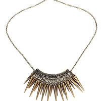 Stunned Minds Spike Necklace