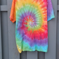 The 90s Tie Dye Spiral, old fashioned, grunge, tumblr