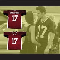 Stefan Salvatore 17 Mystic Falls Timberwolves Football Jersey The Vampire Diaries