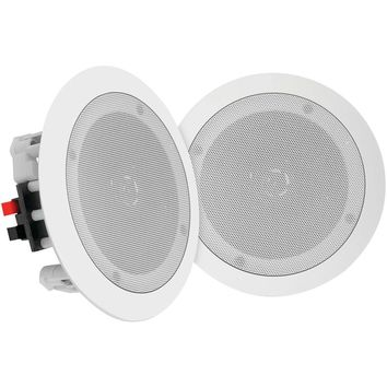 """Pyle Home 6.5"""" Bluetooth Ceiling And Wall Speakers"""