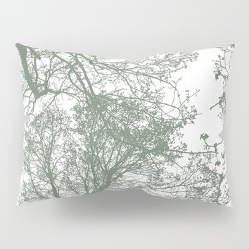 Abstract Trees Pillow Sham by ARTbyJWP