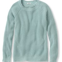 Women's Bean's Shaker-Stitch Pullover Crewneck Sweater | Free Shipping at L.L.Bean