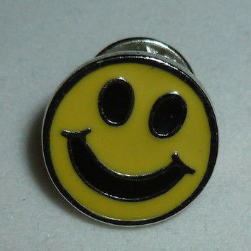 Happy Face Pin