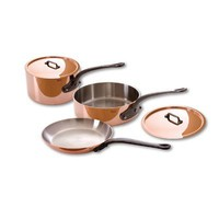 Mauviel M'Heritage Stainless Steel 5-Piece Cookware Set