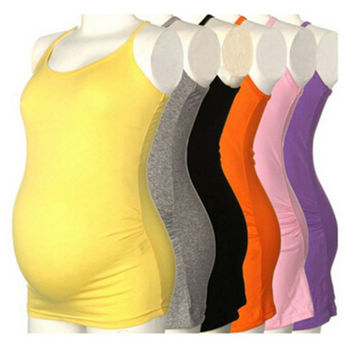 2015 Women's Strappy Vest Tank Tops Camisole Maternity Pregnant Casual T Shirt