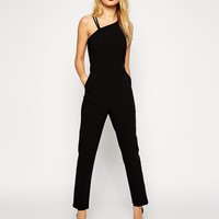 ASOS Jumpsuit with Asymetric Neckline