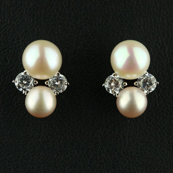 Pearls 925 Silver Earring Accessory Earrings [4914868484]