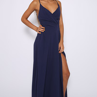 Sweet Rebellion Dress - Navy