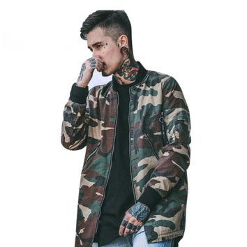 Camo Jacket Winter Jacket Men's Coat