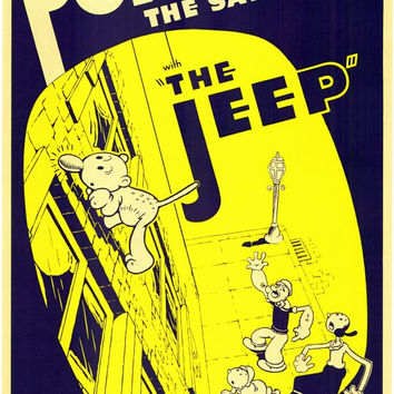 The Jeep 11x17 Movie Poster (1938)